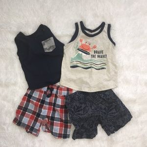 First Impression tanks and shorts set